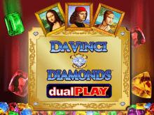 Слот Бриллианты Да Винчи: Двойная Игра